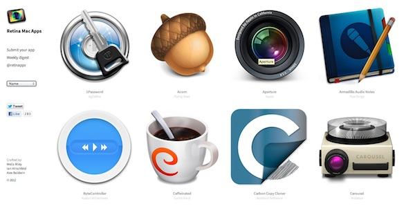 Retina mac apps Aplicaciones compatibles con Retina Display en RetinaMacApps