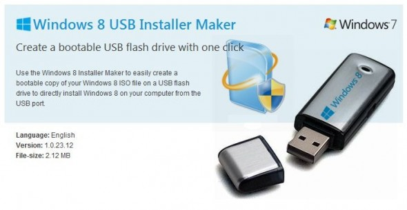 Preparar un USB booteable para instalar Windows 8 - Win8USB-590x305