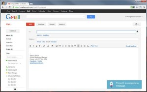 Aprender los atajos del teclado de Gmail con KeyRocket para Chrome
