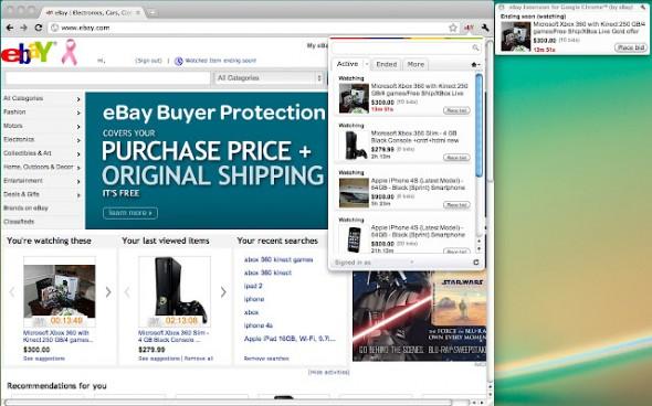Extensión oficial de Ebay ya está disponible para Google Chrome - chrome-ebay-590x368