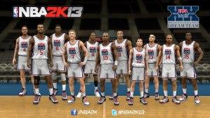 NBA 2K13 incluirá al Dream Team de 1992 y al Team USA del 2012