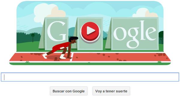 Adiós productividad: Google nos presenta un minijuego olímpico en su doodle de hoy - google-doodle-vallas