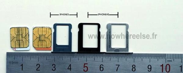 Se muestra la nueva bandeja Nano-SIM del nuevo iPhone (5) - iphone5-nano-sim-3