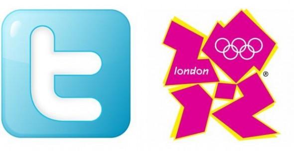 juegos olimpicos twitter 590x304 Los Juegos Olímpicos de Londres 2012 y sus números en Twitter