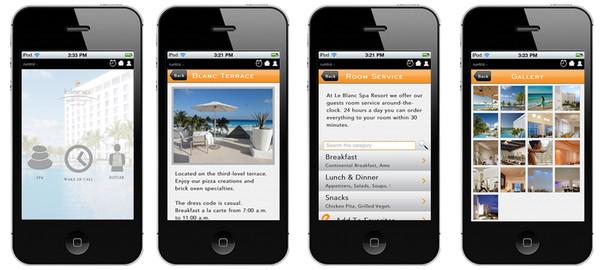 Le Blanc Spa Resort presenta su nueva aplicación móvil - leblanc-iphone