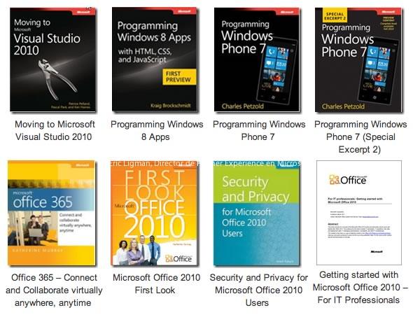 Libros de Microsoft gratis - libros-microsoft-pdf