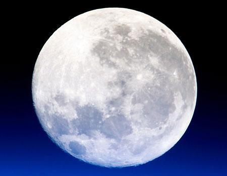 Hoy por segunda vez hay luna llena, conocida como luna azul - luna-azul