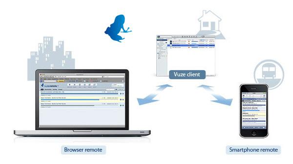 vuze cliente torrent Aplicaciones para descargar y compartir archivos BitTorrent