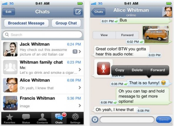 Whatsapp actualiza su aplicación para iOS y ahora encripta las conversaciones - whatsapp-ios-actualizacion-590x427