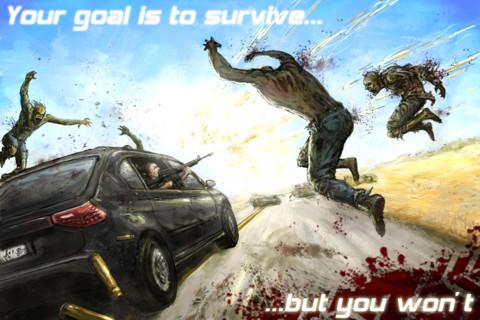 Juegos de zombies para tu smartphone - zombie-highway-ios