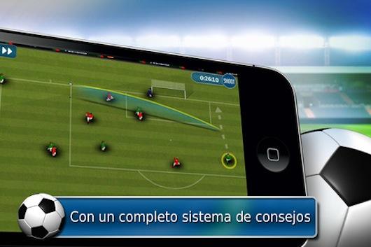 Conviértete en el mejor DT de un equipo de fútbol con Fluid Football para iOS - Fluid-football