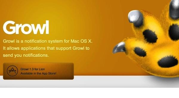 Growl 2.0 con soporte para el centro de notificaciones disponible para descargar - Growl-2-0-os-x