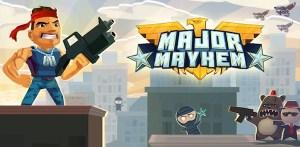 Major Mayhem, un adictivo juego de guerra para iOS y Android