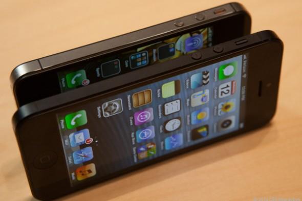 Esto pasa cuando engañas a la gente dándole a probar un supuesto nuevo iPhone 5 [Humor] - apple-iphone-5-590x393