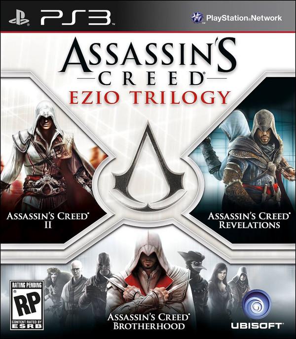 Assassin's Creed y su trilogía de Ezzio Auditore por 39 dólares en exclusiva para PS3 - assassins-creed-trilogia-ps3