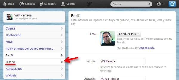 Cómo cambiar el encabezado o banner de tu perfil de Twitter - cambiar-banner-twitter-2