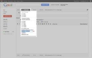 Programar envío de correo para enviar después con Boomerang