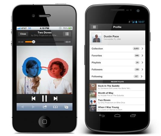 Grooveshark lanza oficialmente su versión en HTML 5 y es compatible con todos los dispositivos - grooveshark