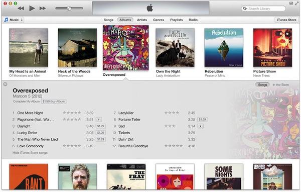 Nuevo iTunes será presentado en octubre y es visualmente muy atractivo - iTunes-Nuevo-2