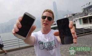 iPhone 5 vs Galaxy SIII en una prueba de resistencia a las caídas