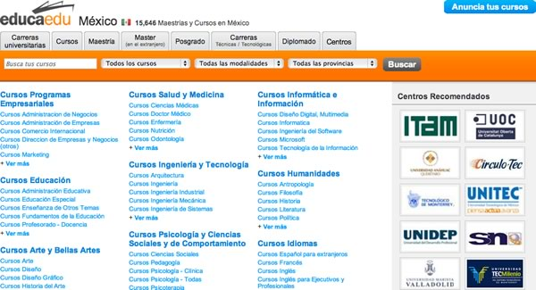 maestrias en linea mexico Posgrados en Educación entre los Posgrados en línea más solicitados por los Mexicanos