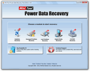 Recupera archivos borrados con MiniTool Power Data Recovery