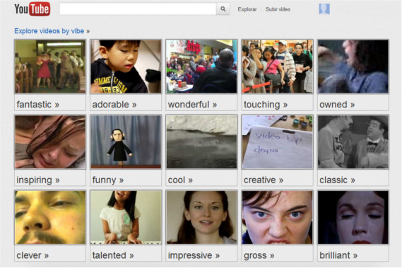 Busca vídeos en Youtube según tu estado de ánimo con Moodwall - moodwall