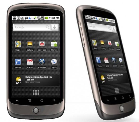El sistema operativo Android cumple 4 años - nexus-one-590x518