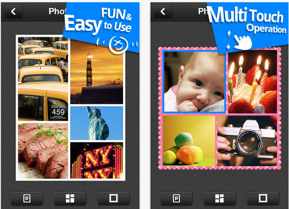 Crea divertidos collages con Photo Grid, disponible para iOS y Android - photo-grid