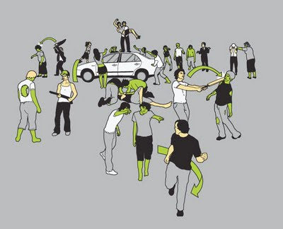 Qué podemos hacer en caso de una invasión zombie [Humor] - sobrevivencia-a-zombies