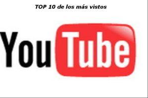 Top 10 de los videos más vistos de Youtube [Actualizado]