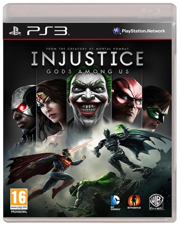 Portada del juego Injustice: Gods Among Us es presentada por Warner - Injustice-PS3