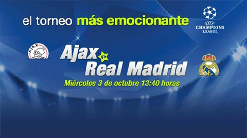 Ajax vs Real Madrid en vivo, Champions League 2012 - ajax-real-madrid-en-vivo-champions-league-2012