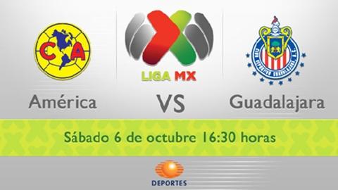 america chivas en vivo apertura 2012 America vs Chivas en vivo, Liga MX (Apertura 2012)