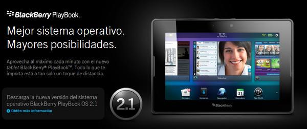 RIM presenta la versión 2.1 de BlackBerry PlayBook OS para su tablet versión WiFi - blackberry-playbook-2-1