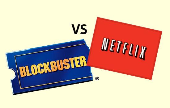 Blockbuster tiene planes para competir con un servicio similar a Netflix [Rumor] - blockbuster-vs-netflix