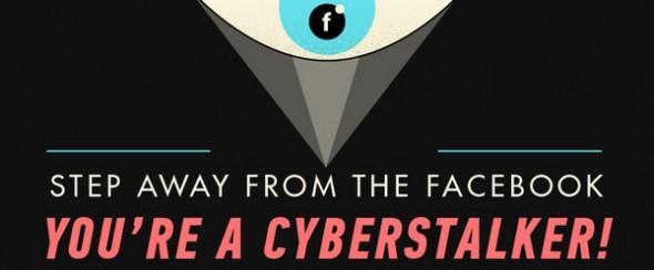 Estadísticas del cyberstalking en una interesante infografía - facebook-stalkers-590x244