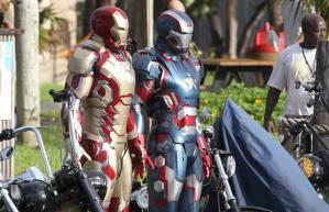Se filtran mas fotos de la nueva armadura de Iron Man 3 y Iron Patriot