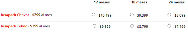 Precios del iPhone 5 con Iusacell - precios-iphone-5-iusa-planes-iusapack