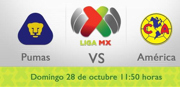 pumas america en vivo apertura 2012 Pumas vs América en vivo, Liga MX (Apertura 2012)