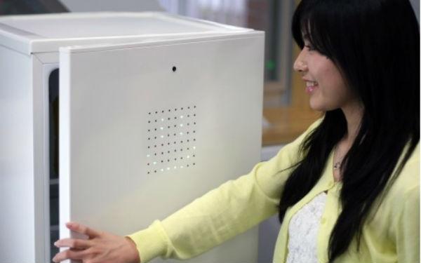 Crean refrigerador que solo se abre cuando sonríes - refrigerador-se-abre-con-la-sonrisa