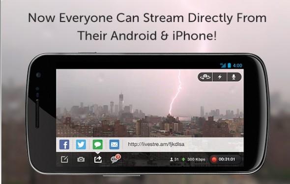 Sigue en vivo la cobertura de Sandy a través de Livestream #Sandycam - sandy-cam-590x376