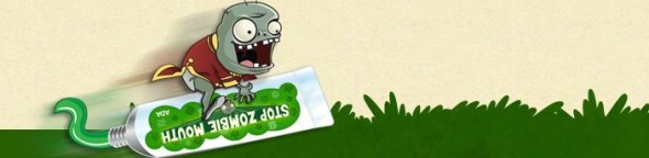 Plants vs. Zombies y ADA Presentan: Stop Zombie Mouth! - stop-zombies-mouth-590x144