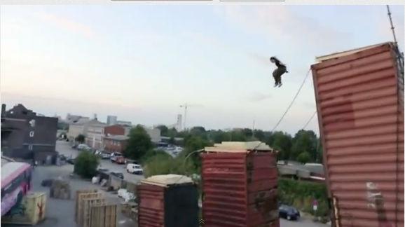 Video de la semana: Human-Powered Freerunning Machine - video-de-la-semana-parkour