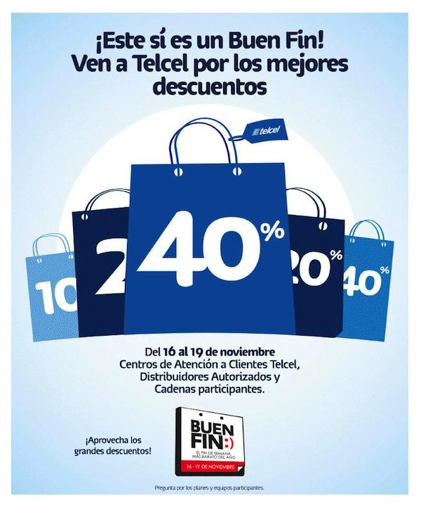 Telcel presenta sus ofertas para el Buen Fin