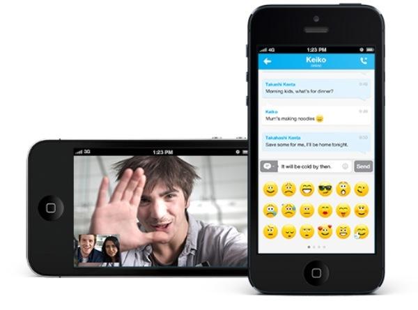 Skype para iOS se actualiza y ahora permite fusionar cuentas de Windows Live - Skype-ios-4-2