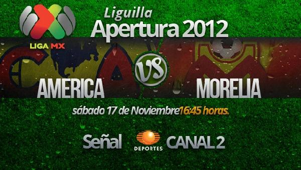 América vs Morelia en vivo, Cuartos de Final Apertura 2012 (Liga MX) - america-morelia-en-vivo-cuartos-de-final-apertura-2012