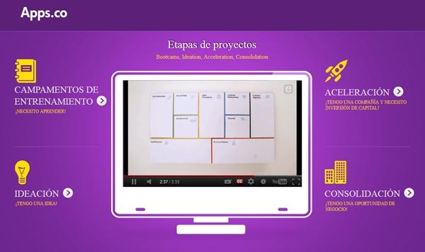 Colombia lanza el programa de aceleramiento de startups Apps.co - apps-co