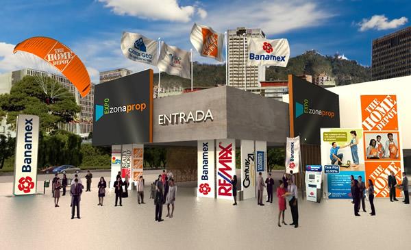 Casas en venta, renta y mucho más en ExpoZonaProp México 2012 - casas-venta-mexico