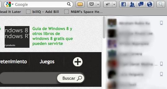 Facebook Messenger para Firefox - chat-facebook